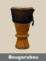Bougarabou:- Perfect drum for someone looking for a quality drum but something that sounds different from a djembe.